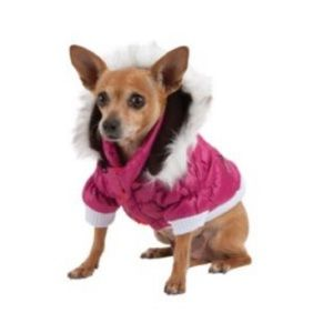Pet life Metallic Fashion Pet Parka Coat size XL